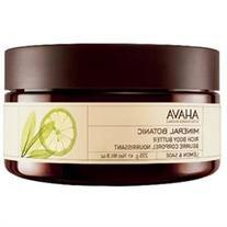 Ahava Mineral Botanic Rich Body Butter Lemon And Sage