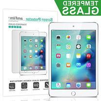 iPad Mini 4 Screen Protector Glass, amFilm Tempered Glass