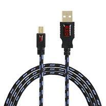 Mini-USB Cable, EZOPower 6 feet Braided Jacket USB Data