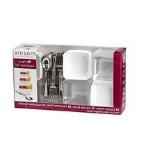 Mozaik Premium Plastic Mini Appetizer & Dessert Tasting Set