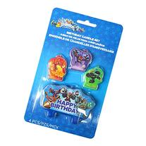 Skylanders Mini Candle Set