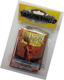 Mini Copper  Card Sleeves Dragon Shields Arcane Tinmen