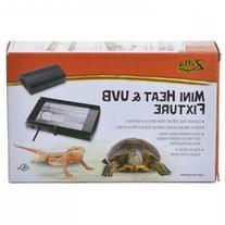 Zilla Mini Heat UVB Reptile Fixture: Mini Heat UVB Fixture