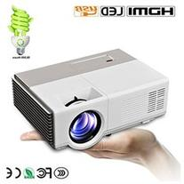 CAIWEI Mini Portable Projector Entertainment Home Cinema
