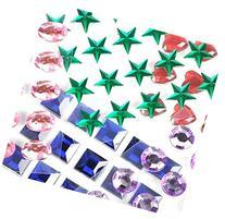 Mini Self-Adhesive Back Jewels Multi-Color Assorted Gems