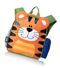 Stephen Joseph Mini Sidekicks Backpack, Tiger