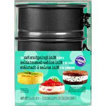 """Wilton 4"""" Mini Springform Cake Pan Set, Round 3 ct. 2105-"""