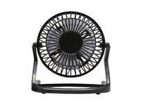 Vibe Mini USB Desktop Fan, Black