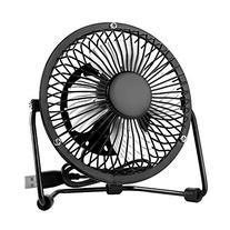 EasyAcc 4 Inch USB Mini Desktop Metal Blades Cooling Fan