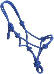 Tough 1 Tough-1 Miniature Poly Rope Tied Halter, Red, Small