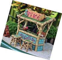 Miniature Tiki Bar Plus 2 Stools Fairy Garden