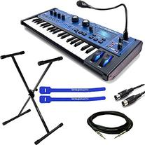 Novation MiniNova Synthesizer w/ Keyboard Stand, Cables &