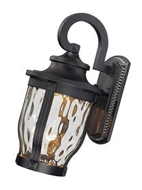 Minka Lavery 8762-66-L Merrimack Black LED Outdoor wall