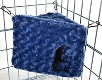 Minky Soft-sided Hanging Small Pet CORNER Hut - Made in the