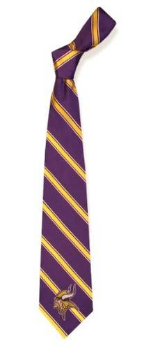 Minnesota Vikings NFL Football Sports Team Striped Mens Neck