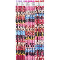 Disney Minnie Mouse 12 Wood Pencils Pack