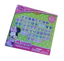 Disney Minnie Mouse Bow-tique Kids 24-pair Sticker Earrings