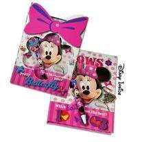 Disney Minnie Mouse Bowtique Notebook, Journal & Pen Set w/