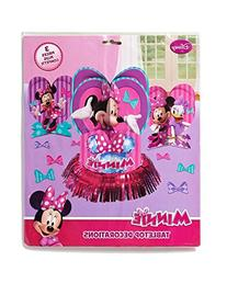 Minnie Mouse Bowtique Table Decorations, Party Supplies