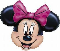 Anagram Minnie Mouse Head 28 Inch Jumbo Foil Balloon