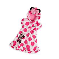 Disney Minnie Mouse Swimsuit Hooded Cover-Up with Ears for