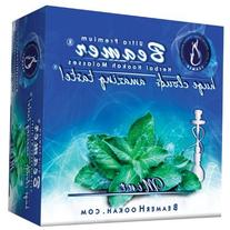 Mint Beamer® Ultra Premium Hookah Molasses 50 Gram Box.