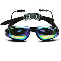 Ipow Mirrored Anti-fog Uv Protection Swim Swimming Goggles/