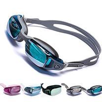 Aguaphile Mirrored Swim Goggles Soft and Comfortable - Anti-