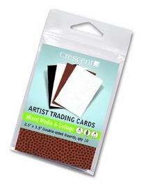 Crescent Mixed-Media / Collage Artist Trading Cards 10-Pack