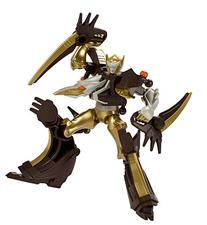 Power Rangers Mixx N Morph Dino Gold Ranger and Ptera Charge