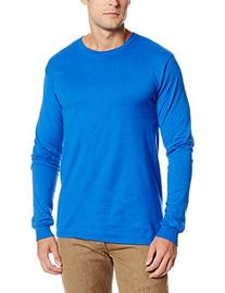 Soffe Men's Pro Weight Long Sleeve Tee Royal X-Large