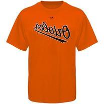 Baltimore Orioles Orange Wordmark T-Shirt