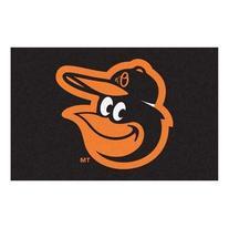 MLB Baltimore Orioles Cartoon Bird Starter Area Rug