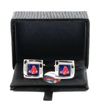 MLB Boston Red Sox Team Logo Cufflinks