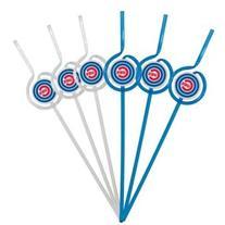 MLB Chicago Cubs Six Pack Team Sip Sport Straws