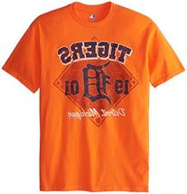 MLB Detroit Tigers Men's 58J Tee, Orange, Large