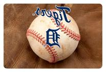 MLB Detroit Tigers Baseball Pet Mat