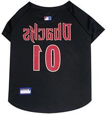 MLB Dog Clothing - Arizona Diamondbacks Dog Jersey - Small