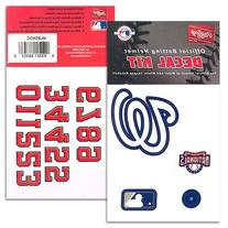 Rawlings MLB Logo Decals Nationals