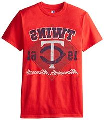 MLB Minnesota Twins Men's 58J Tee, Red, X-Large