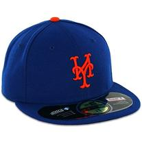MLB New York Mets Game AC On Field 59Fifty Fitted Cap-714