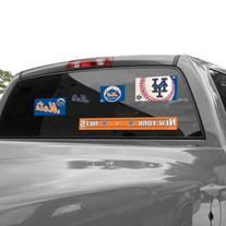 MLB New York Mets 11'' x 17'' Ultra Decal Window Clings