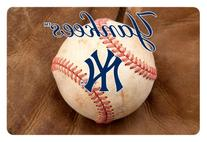 MLB New York Yankees Baseball Pet Mat