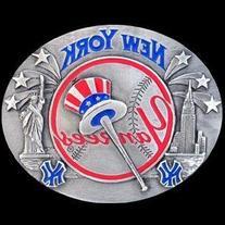 MLB New York Yankees Belt Buckle