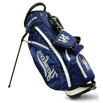 MLB New York Yankees Fairway Stand Golf Bag, Navy