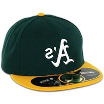 MLB Oakland Athletics Home AC On Field 59Fifty Fitted Cap-