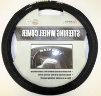 MLB Pittsburgh Pirates Poly-Suede Steering Wheel Cover