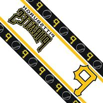 MLB Pittsburgh Pirates Wall Border, 05 x 15, Multicolor