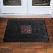 FANMATS MLB St Louis Cardinals Vinyl Door Mat