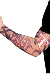 MLB Texas Rangers Authentic Tattoo Sleeves with Full Color